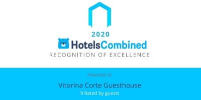 HotelsCombined Recognition of Excellence Award for 2020